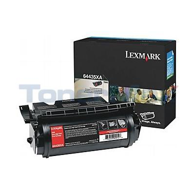 LEXMARK T644 PRINT CARTRIDGE BLACK 32K